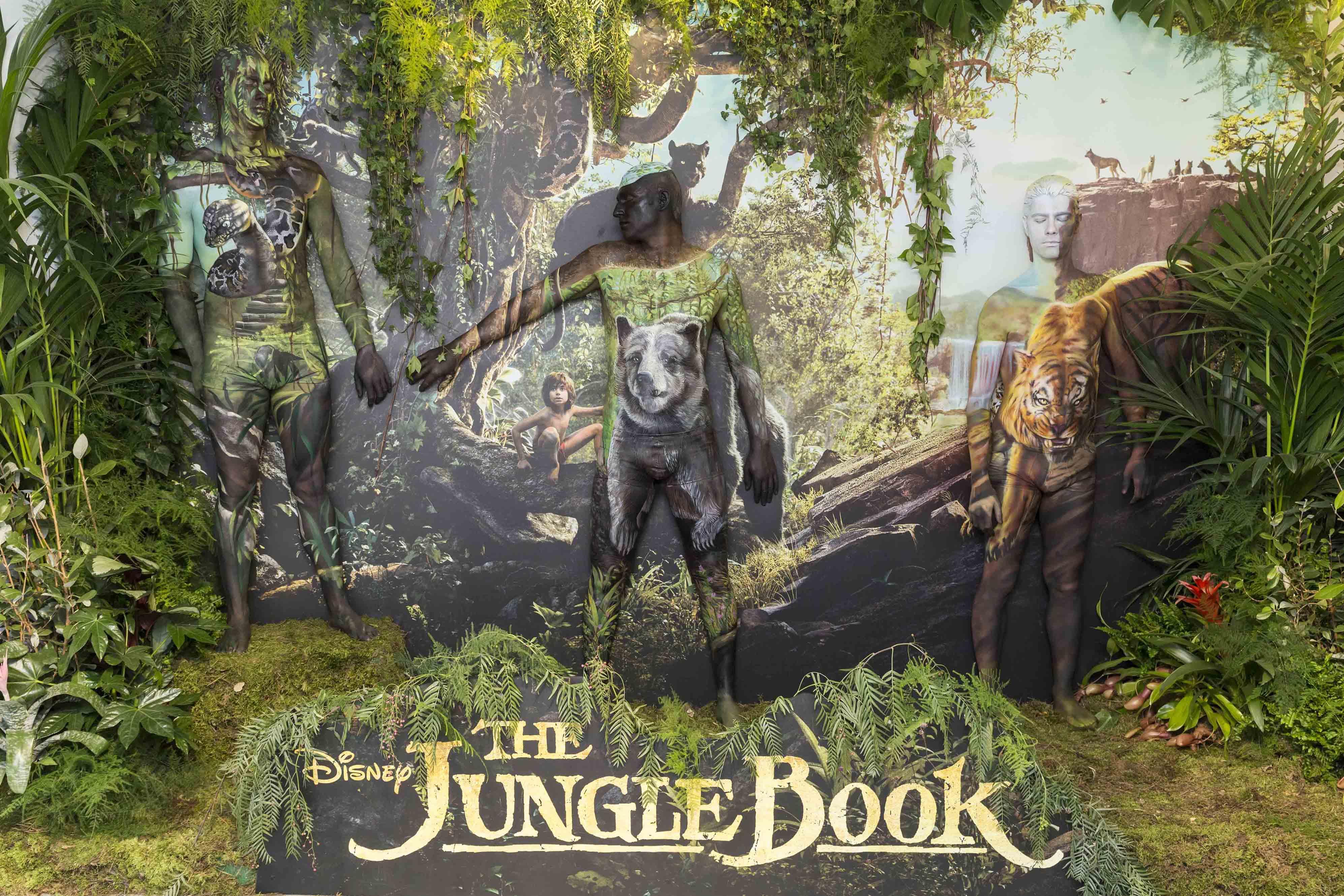 P ster humano de el libro de la selva moviementarios for El tiempo en macanet de la selva