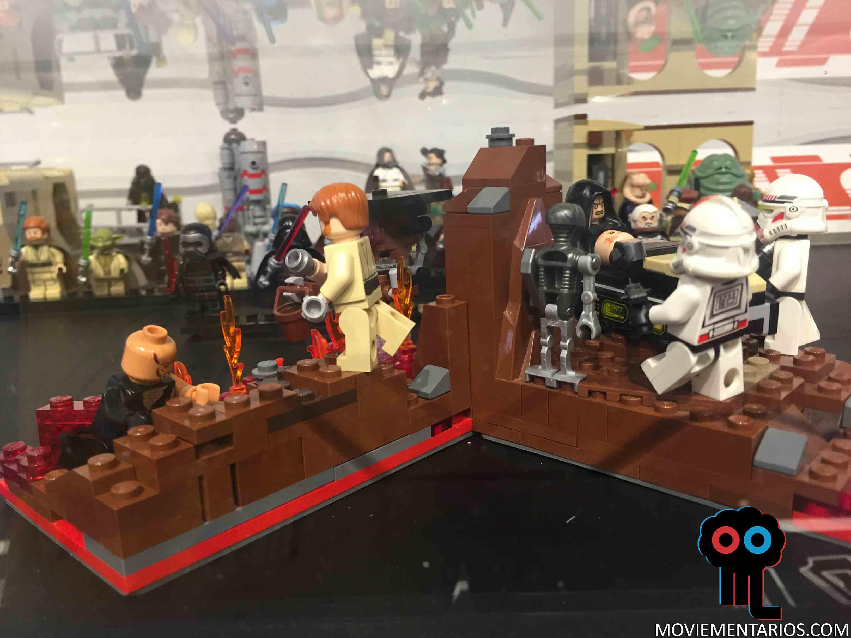 Visitamos la exposici n de lego star wars en fnac callao - Croiseur star wars lego ...