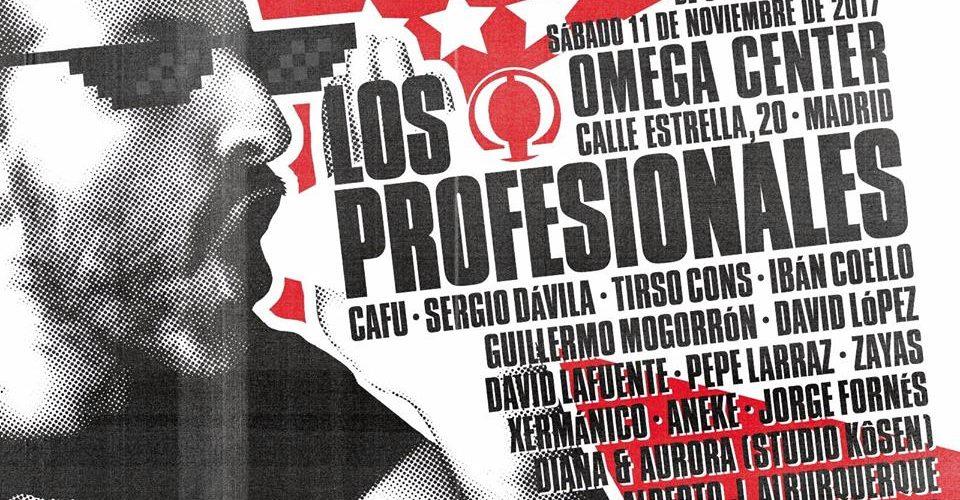 Cartel Los Profesionales