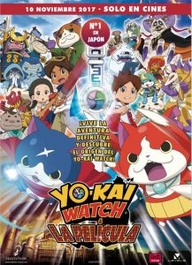 Yo-kai watch la película Cartel