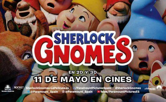 tráiler Sherlock Gnomes