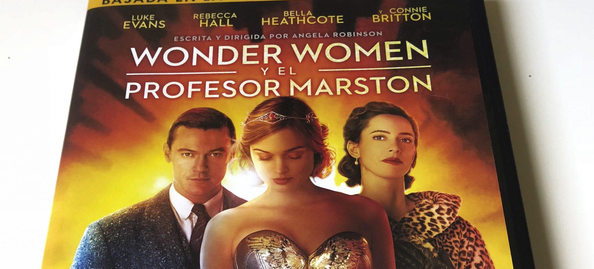 Análisis Del Dvd De Wonder Women Y El Profesor Marston