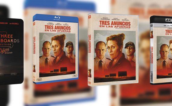 dvd tres anuncios en las afueras