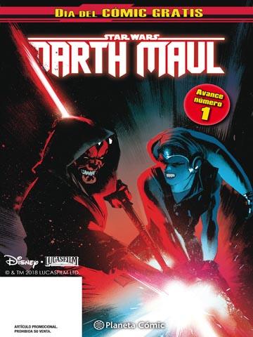 día comic gratis Darth Maul 1