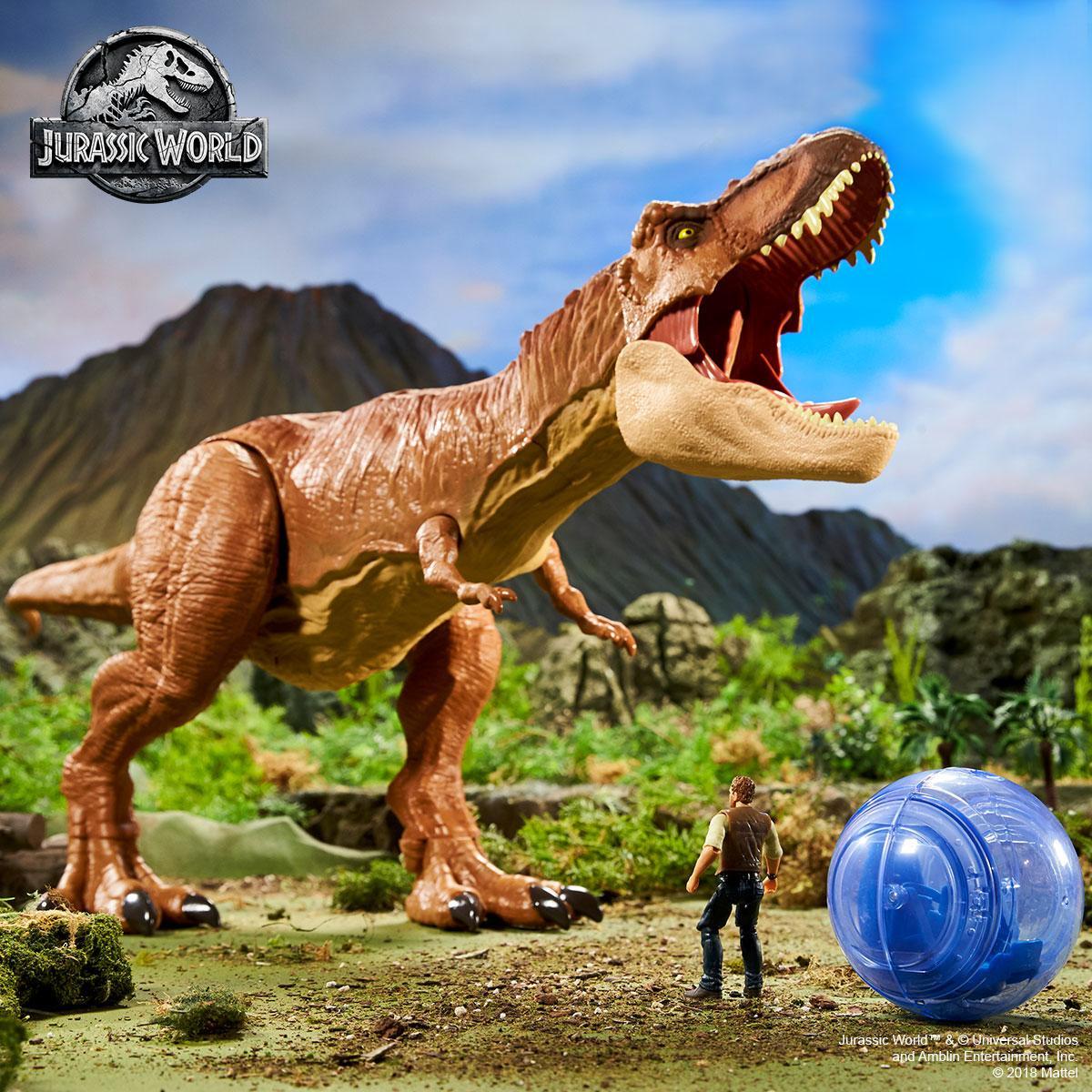 Mattel Lanza La Coleccion De Jurassic World El Reino Caido Jurassic world dinosaurio triceratops fossil mattel. moviementarios