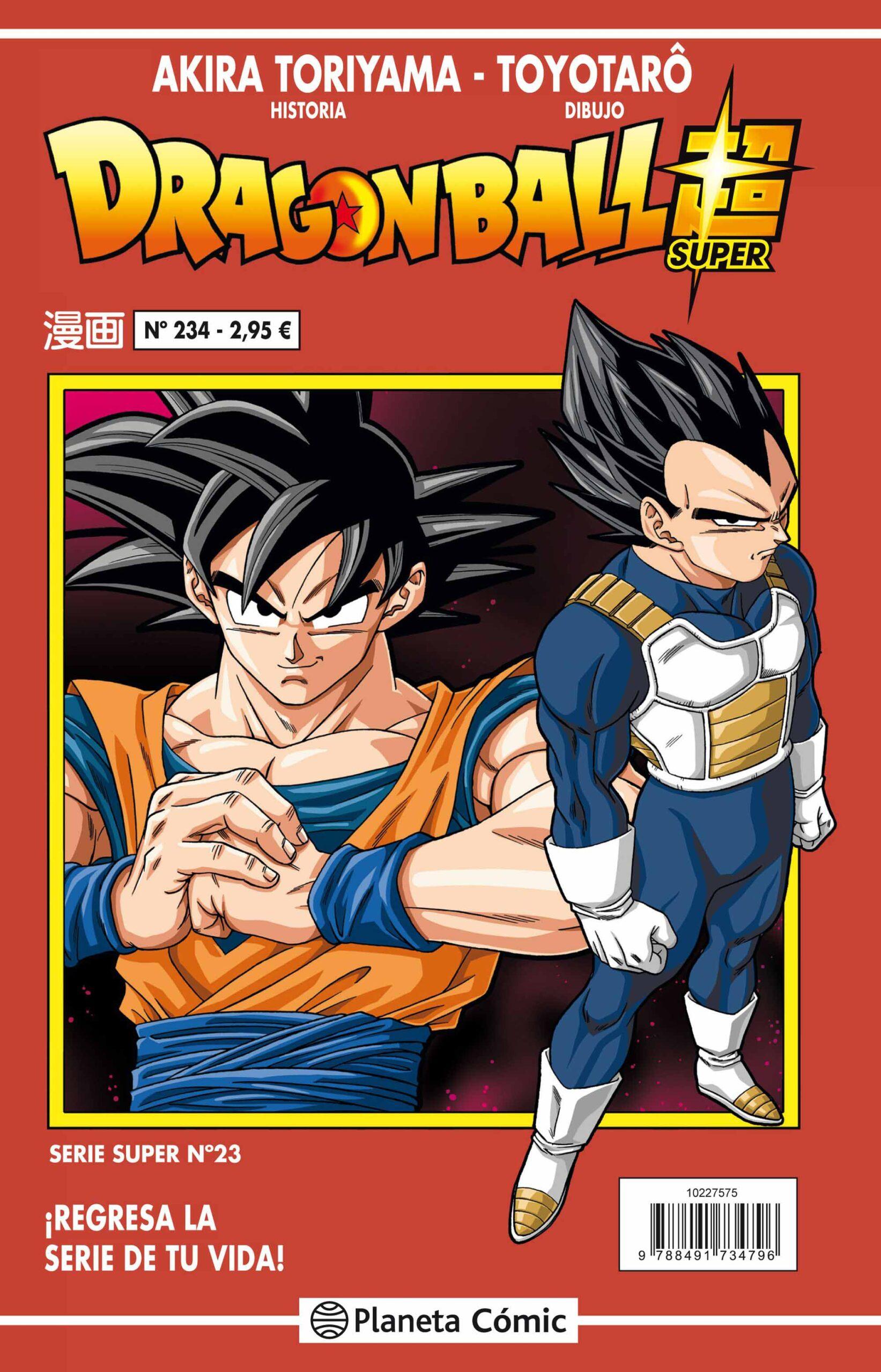 'Dragon Ball Super' 23 / 234 Serie Roja, reseña del manga