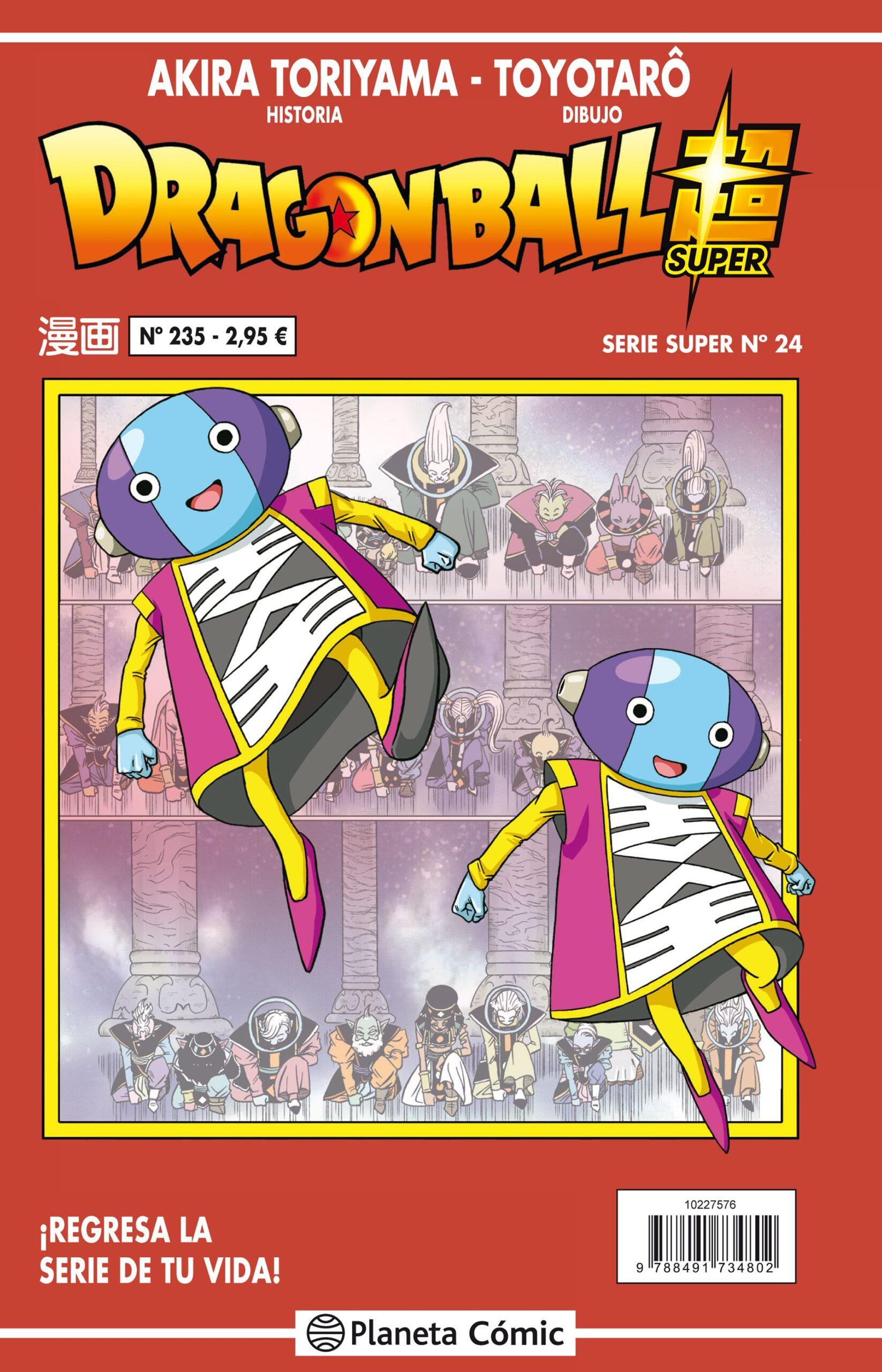 'Dragon Ball Super' 24 / 235 Serie Roja. Reseña del manga