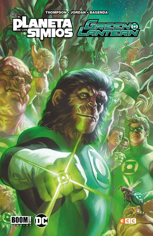 'Green Lantern / El planeta de los simios'. Reseña del crossover
