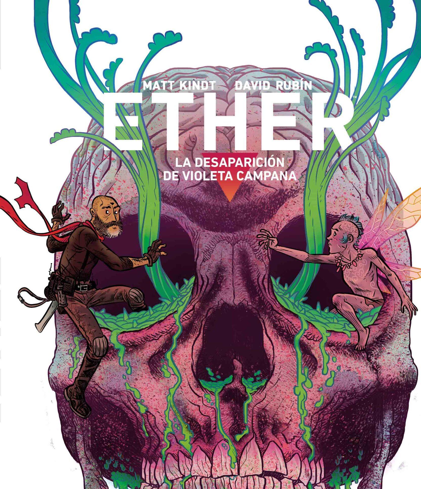 'Ether 3. La desaparición de violeta campana'. Reseña