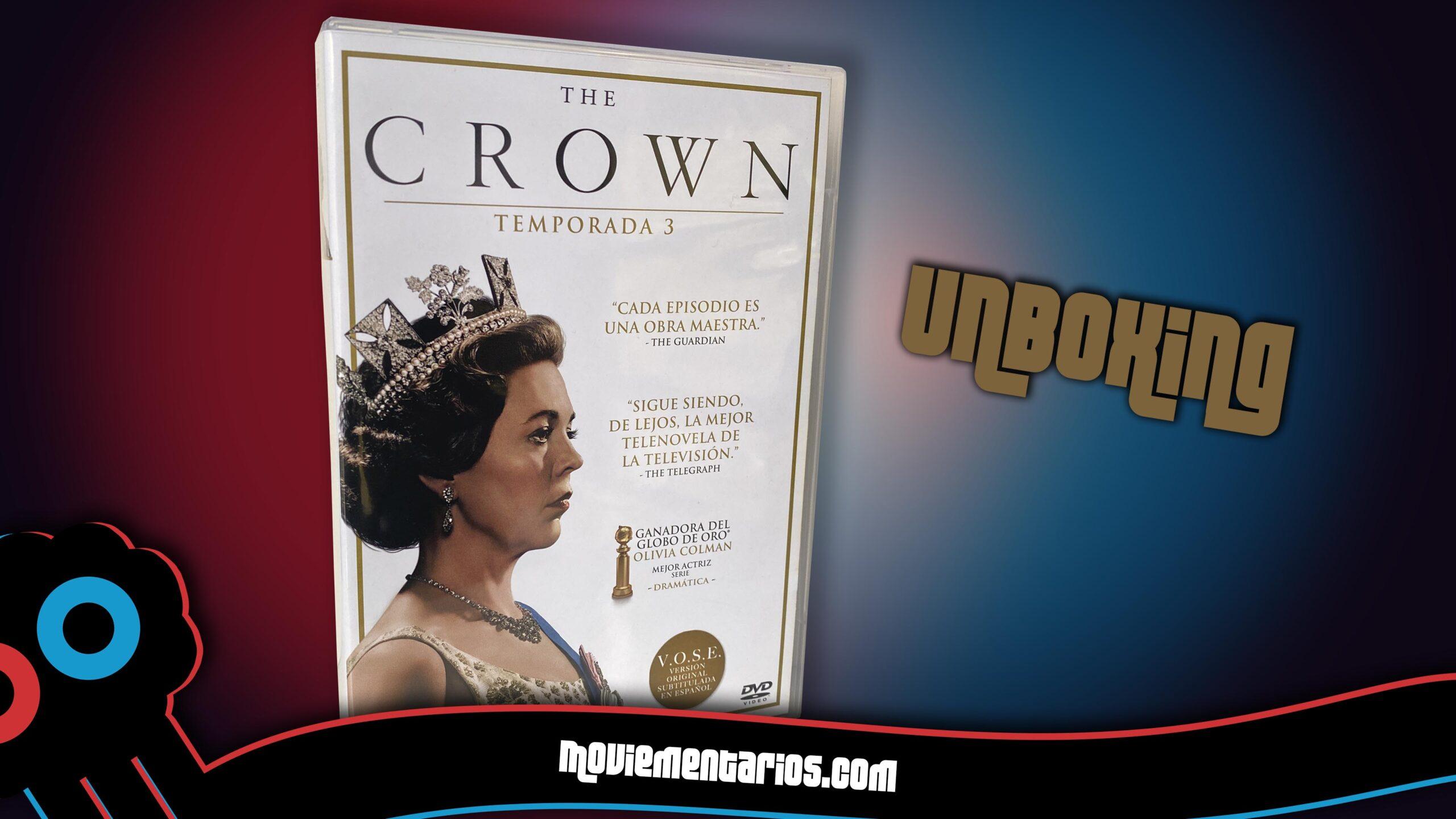 Análisis del DVD de la T3 de 'The Crown'