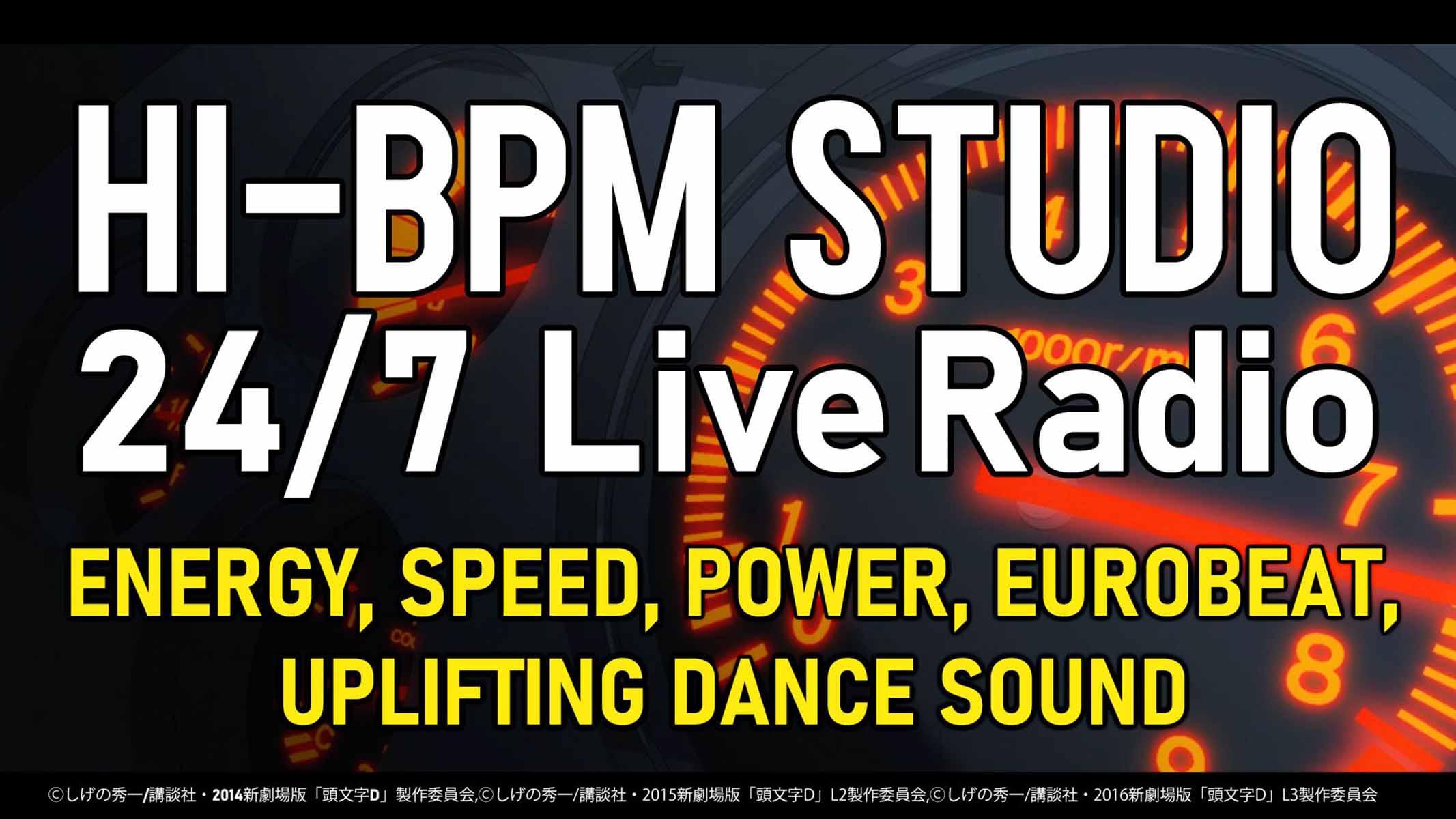 Se lanza un canal de música Eurobeat 24/7 en Youtube