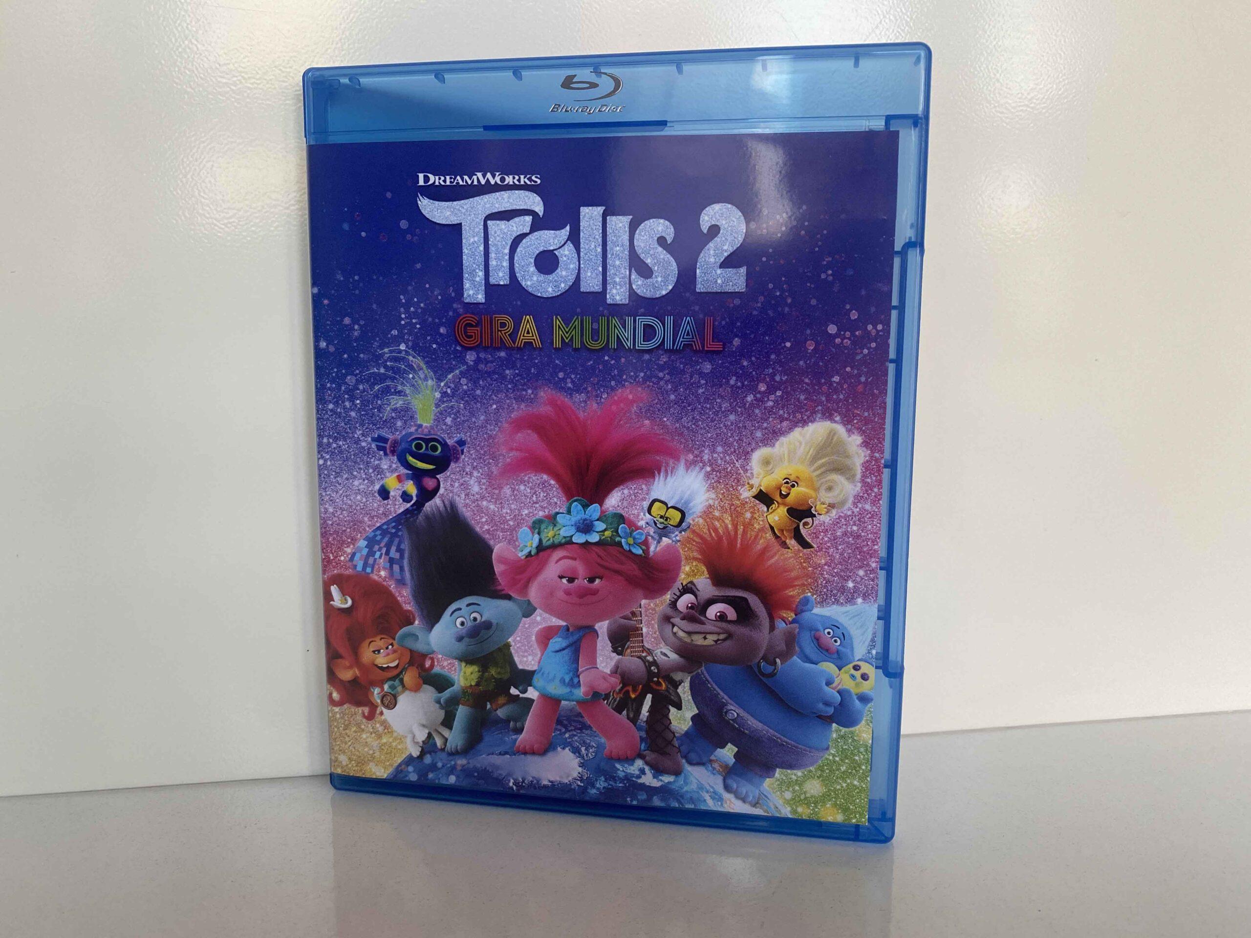 Análisis del Blu-ray de Trolls 2. Gira mundial. Con extras para los niños/as