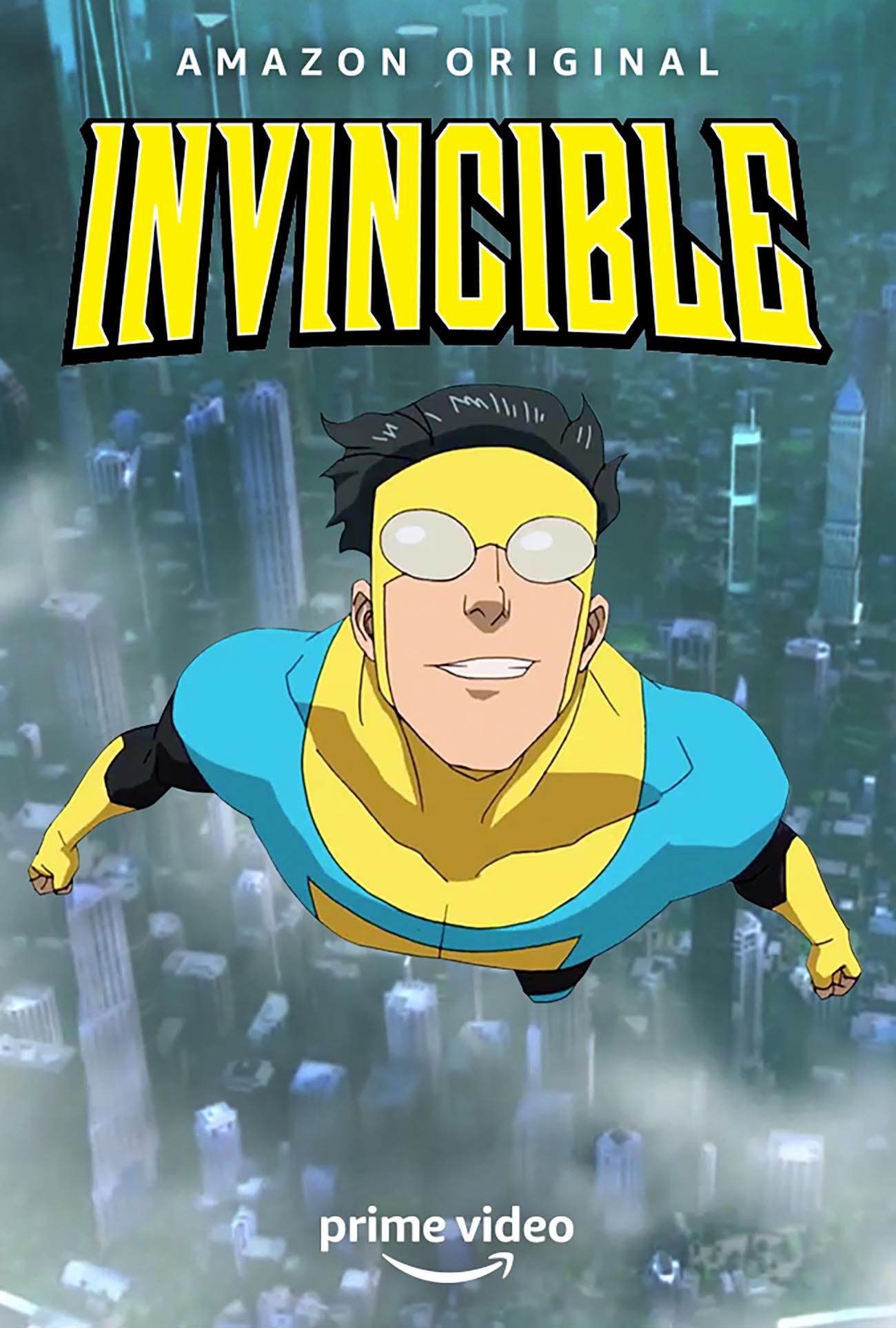 Invincible. Animación comiquera para público adolescente o adulto