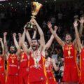 la familia selección española de baloncesto